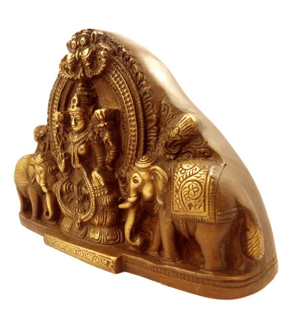 Handicraft Brass Laxmiplate Deeva 4.25 Inch