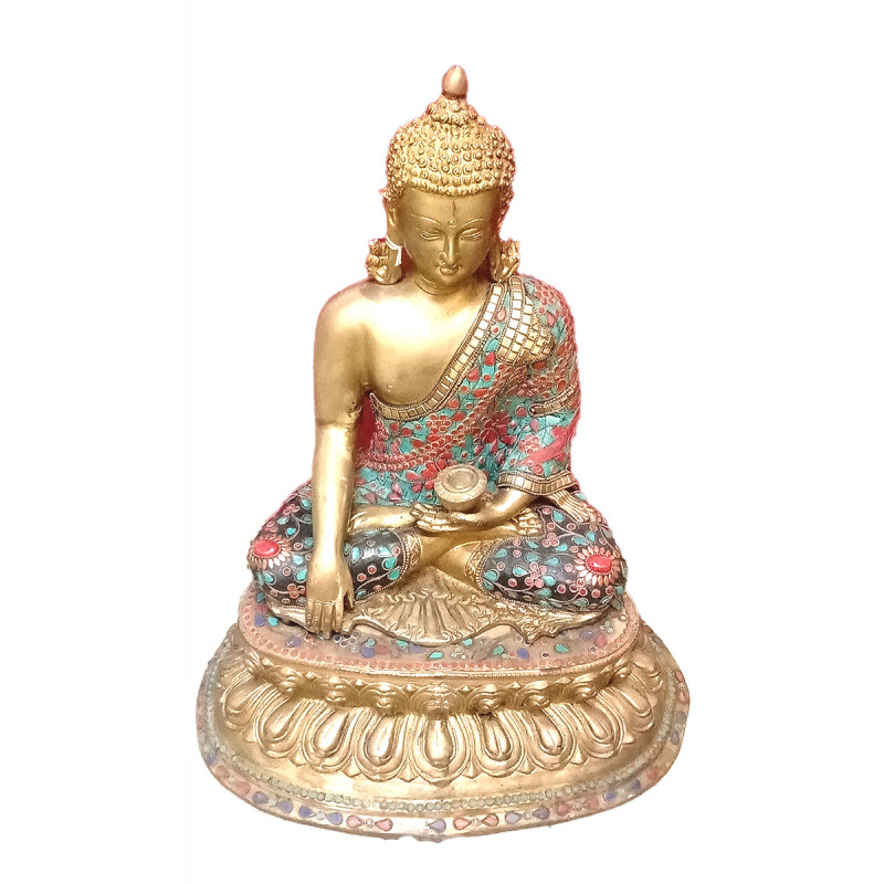 Buddha Baseless Handcrafted In Brass Size 20 Inches