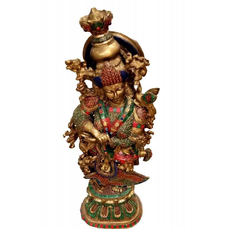 Radha Handcrafted In Brass Size 28 Inches