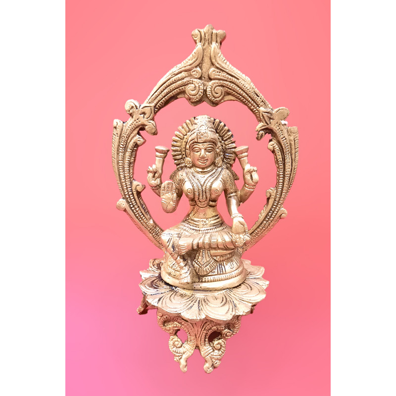 Laxmi Handcrafted In Brass Size 8 Inches