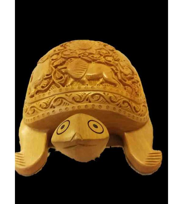 Kadamba Wood Handcrafted Carved Tortoise