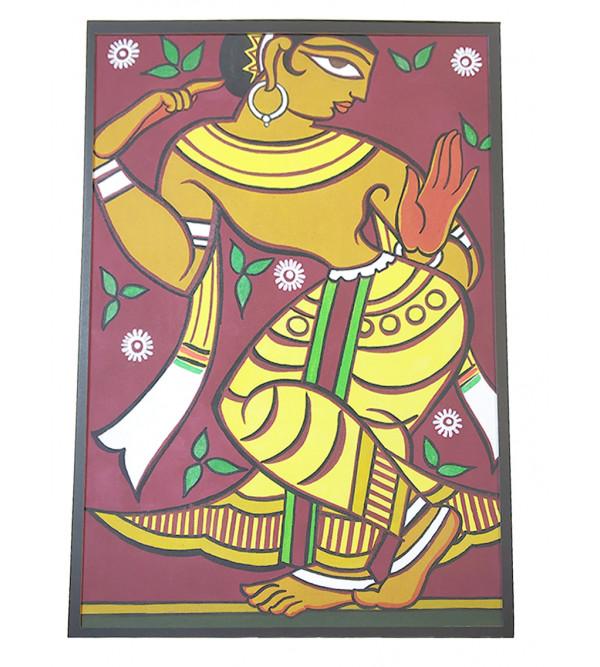 Traditional Krishna Handmade Painting