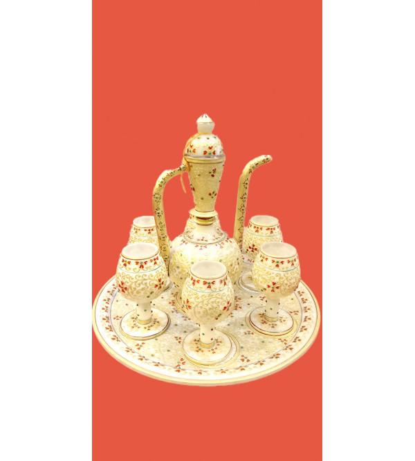 Marble Aftab Set