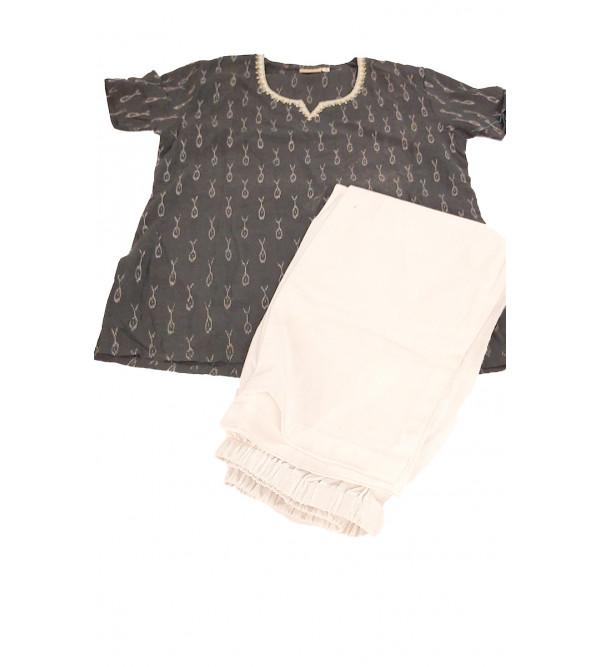Cotton Kurta Pajamas For Girls 6