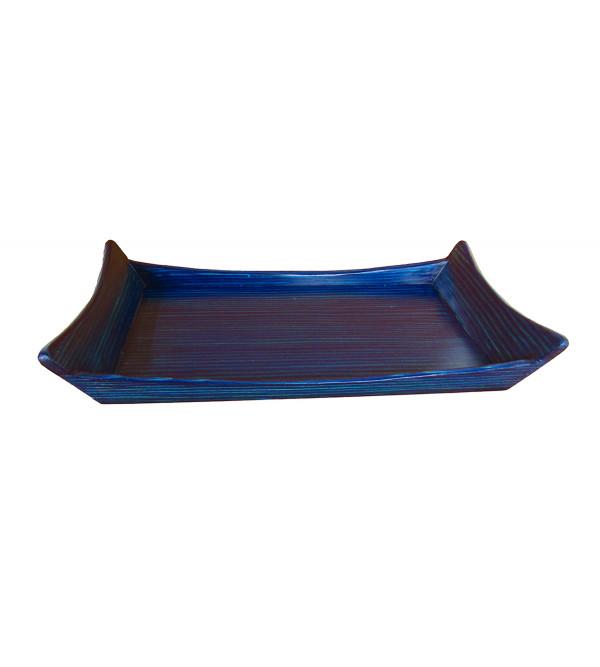 Russian Larch Wood Plain Tray Size 6x12 Inch