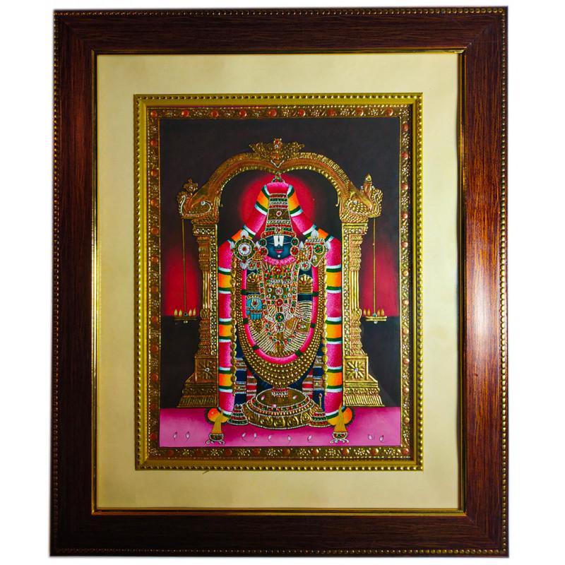 Traditional Handmade God Painting