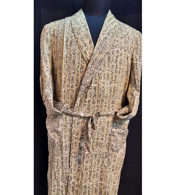 Dressing gown cotton medium 40