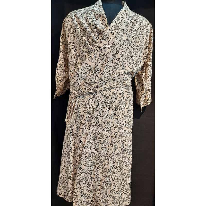 Pure Cotton Printed Dressing Gown Size 38 Inch