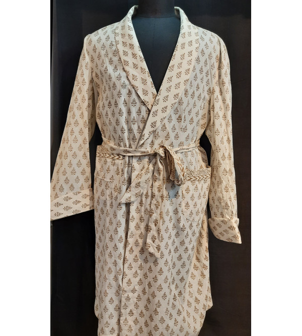 Dressing Gown cotton large 42