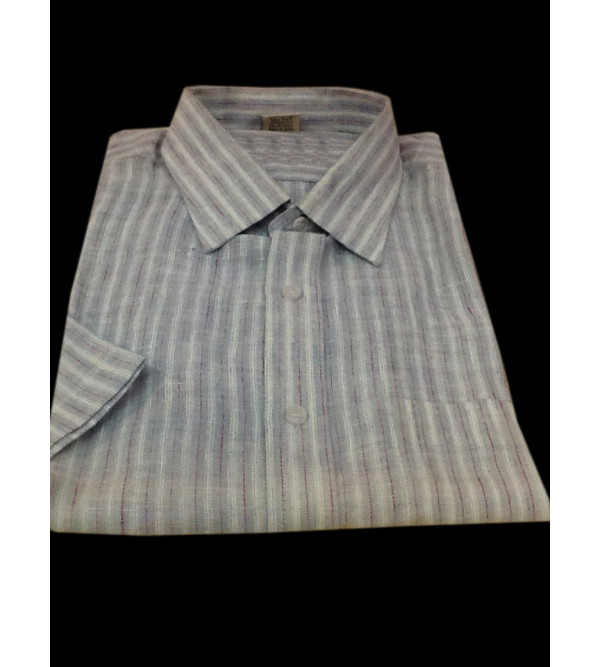 Cotton Shirt Half Sleeve Size 40 Inch