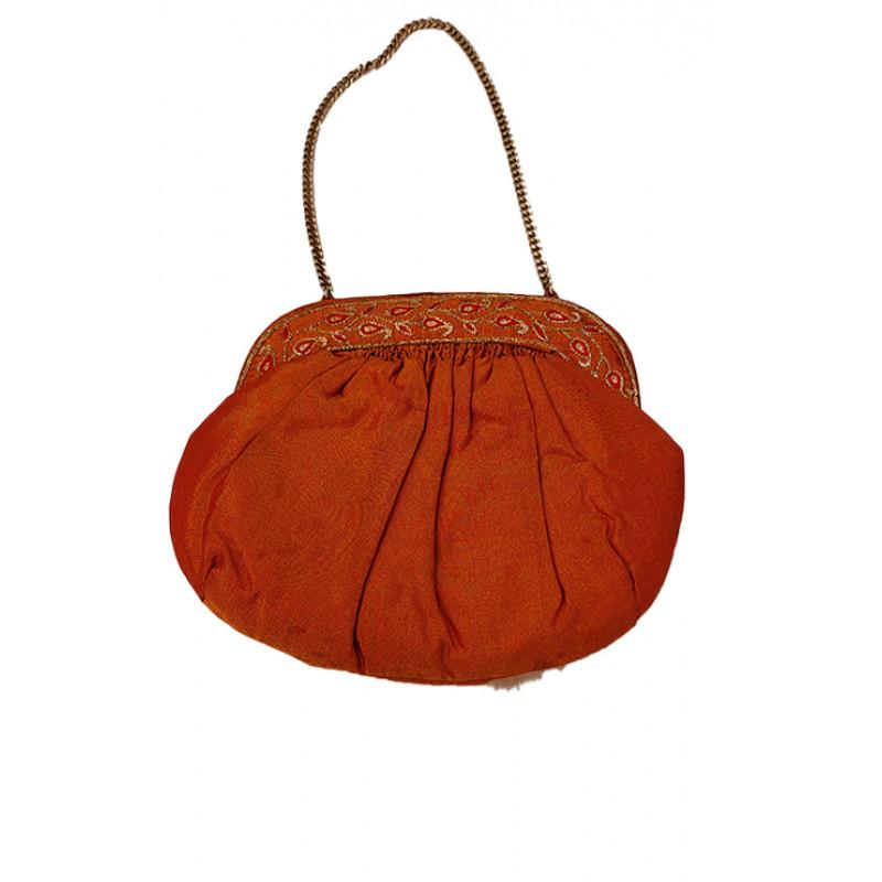 Silk  Zari Bags