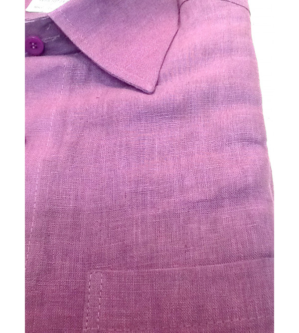 Cotton Shirt Half Sleeve Size 38 Inch