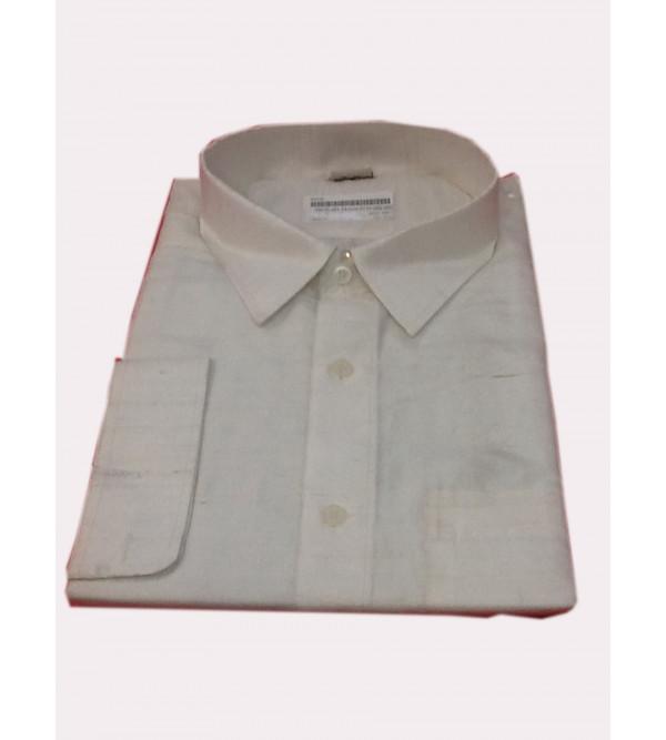 Silk Shirt Full Sleeve Size 44 Inch