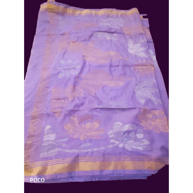 Silk Handwoven  Bengal Saree