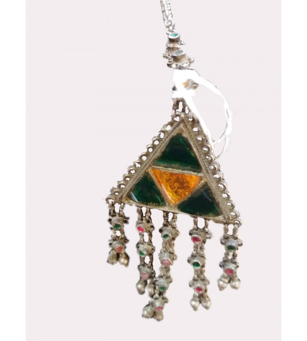 Assorted Silver Jewellery Maang Tikka