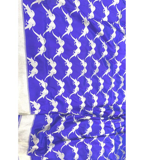 Banaras silk parrot design HANDLOOM SAREE with blouse