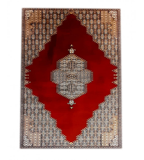 Bhadohi  Woolen Hand Knotted carpet Size 5 ft. x7 ft.
