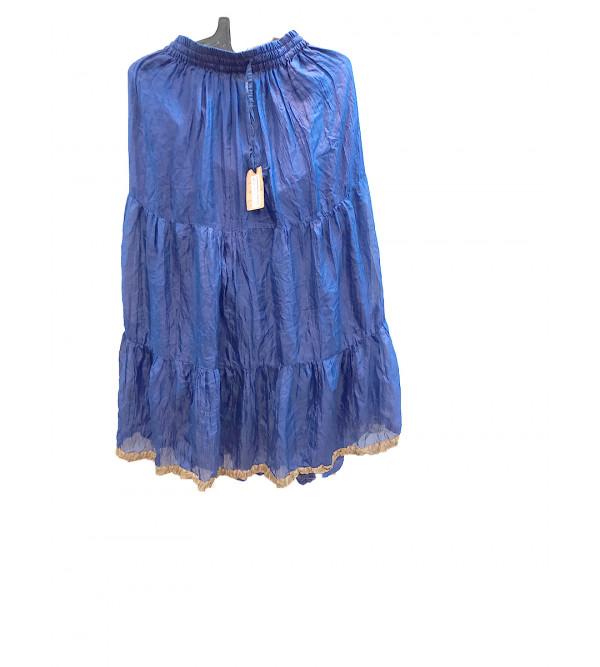 Cotton Hand Block Print Skirt