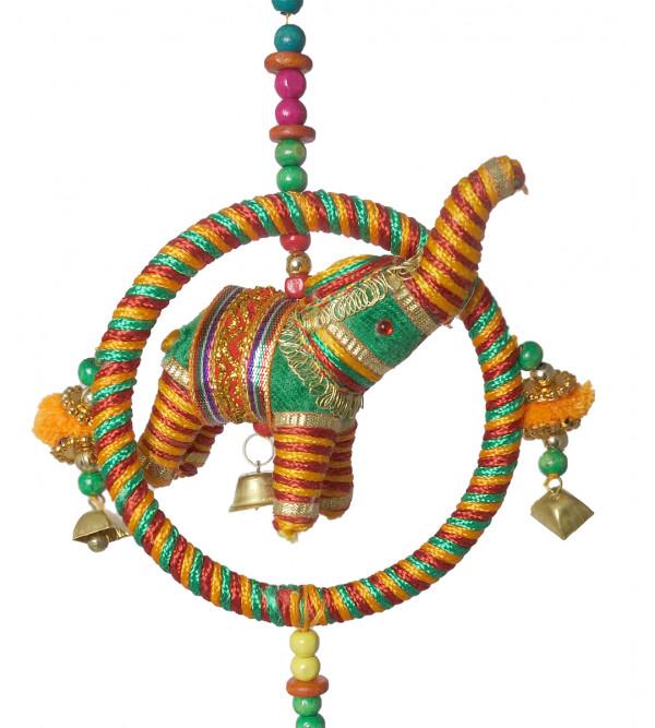 Handicraft 3Pcs Velvet Set Elephant Ring String Toys