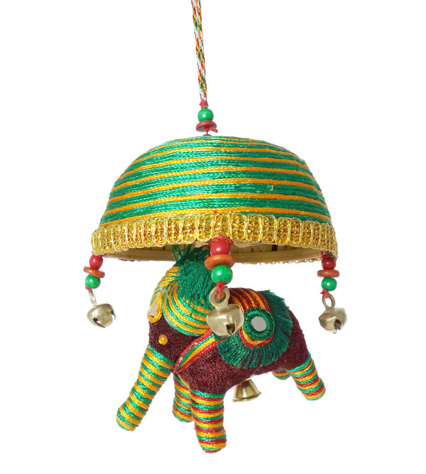 Handicraft Single Thread Elephant Tokri