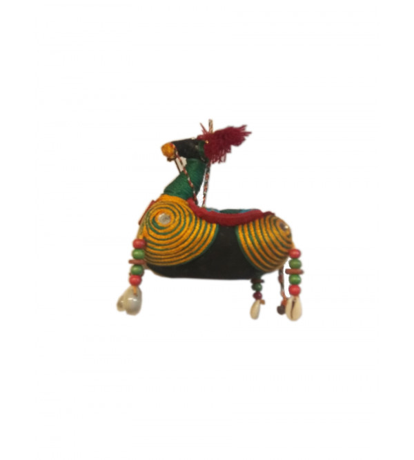 Handcrafted Stuffed Horse Hanging Size 4 Inch