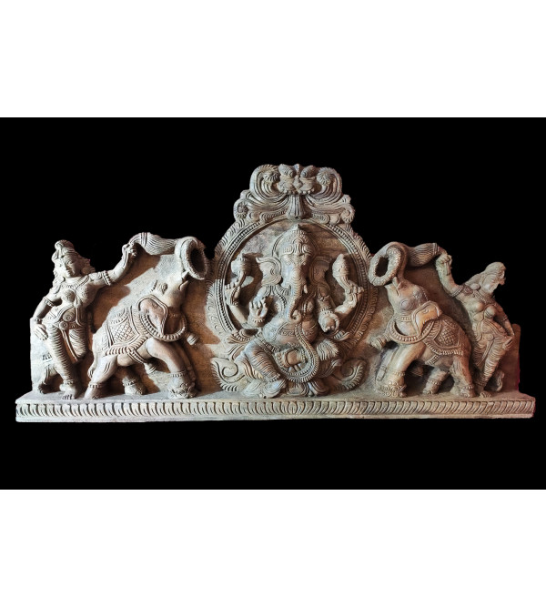 36X18X3 KRISHNA PANEL SPECIAL VAGHAI WOOD NATURAL FINISH