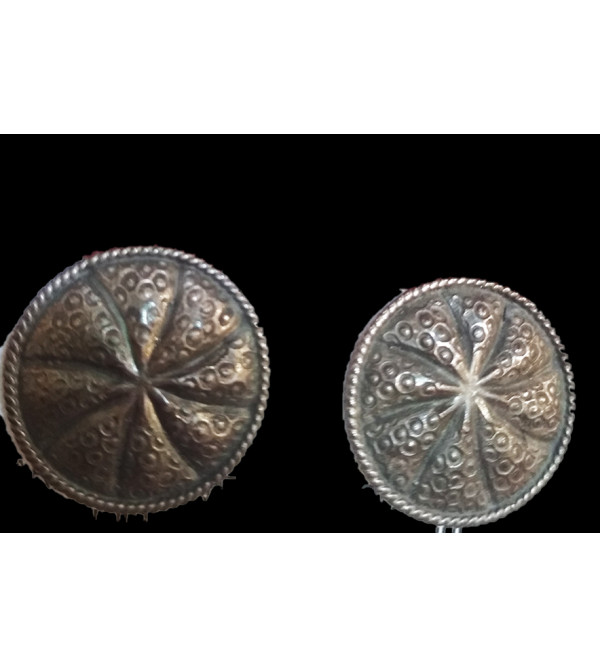 EARRING  SILVER OLD LOOK