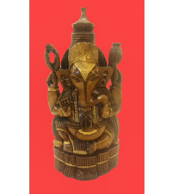 Ganesh CARVED 10 inch