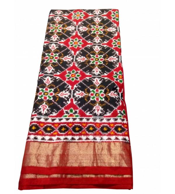 Handloom Orissa Silk Ikat Saree 6.50 Meter
