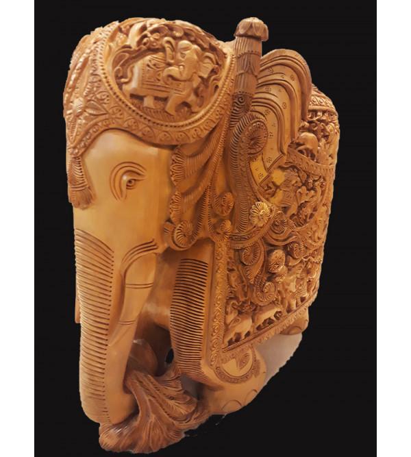 12   INCHES  SANDALWOOD ELEPHANT