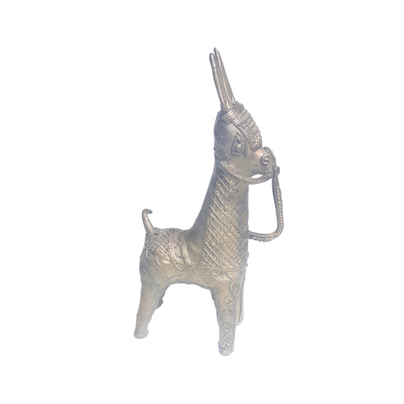Dhokra Handcrafted Horse