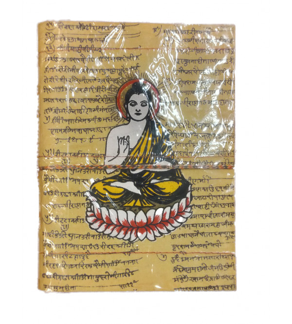 8X6 INCH NOTE BOOK WITH BUDHA PAINTING