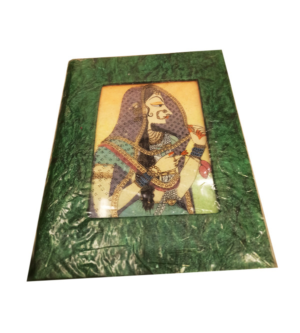 Stationary Items dairy with plain papers with gem stone painting