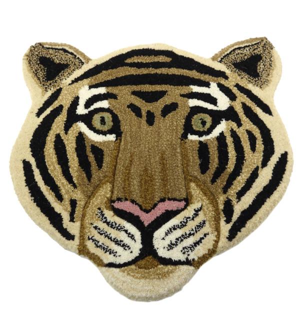 HANDICRAFT LION FACE MIRZAPUR MATS 20X20 INCH
