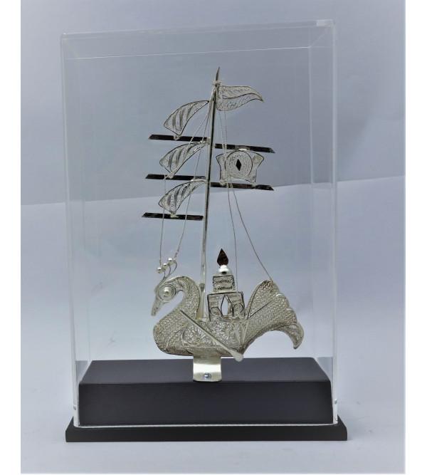 Silver Filgiree Kalingee Boat