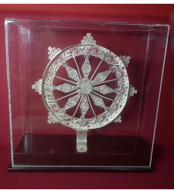 Filigree Silver Handcrafted Kanark Wheel