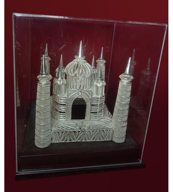 Filigree Silver Handcrafted Taj Mahal