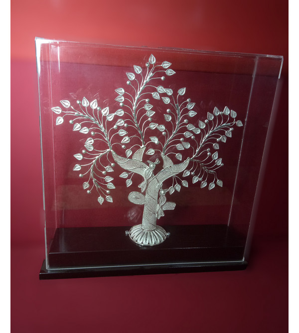Filigree Silver Handcrafted Tree