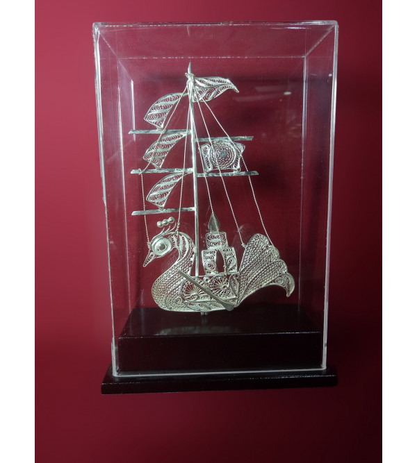 Filigree Silver Handcrafted Ship
