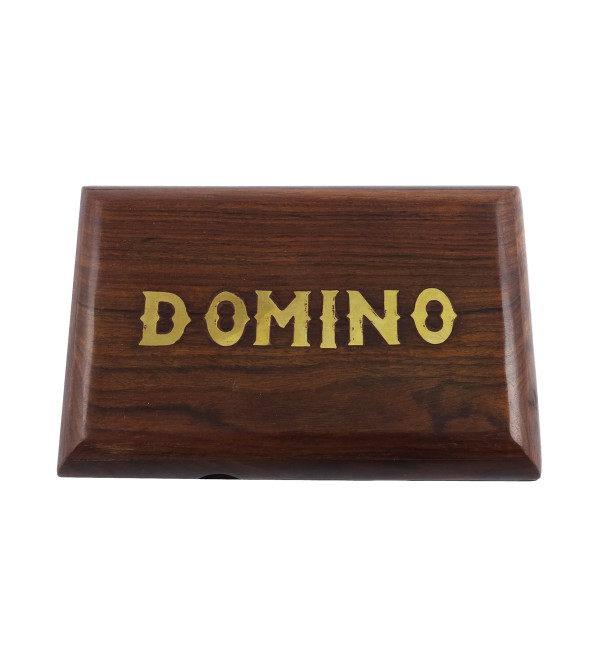 HANDICRAFT WOODEN TOYS DOMINO GAME