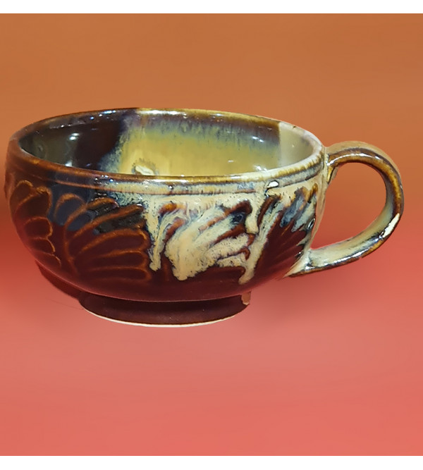 BOWL POTTERY SOUP BOWL 7CM