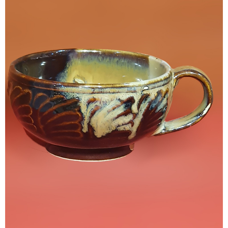 Handcrafted Soup Bowl Pottery Size 7 Cm