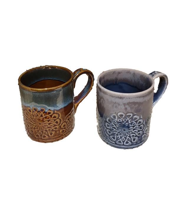 Studio Art Pottery Coffee Mug Size 6 Inch