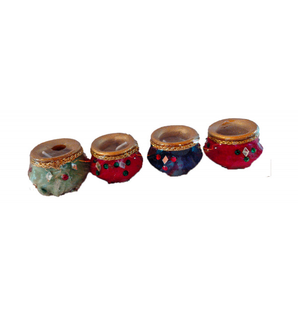 DECORATIVE  DIYA  SET