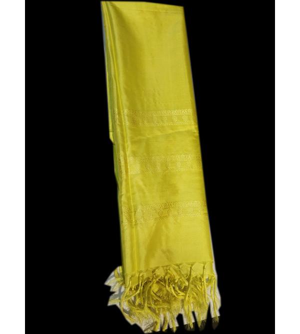 CFC Handloom Silk Stoles Size 20x70 Inch