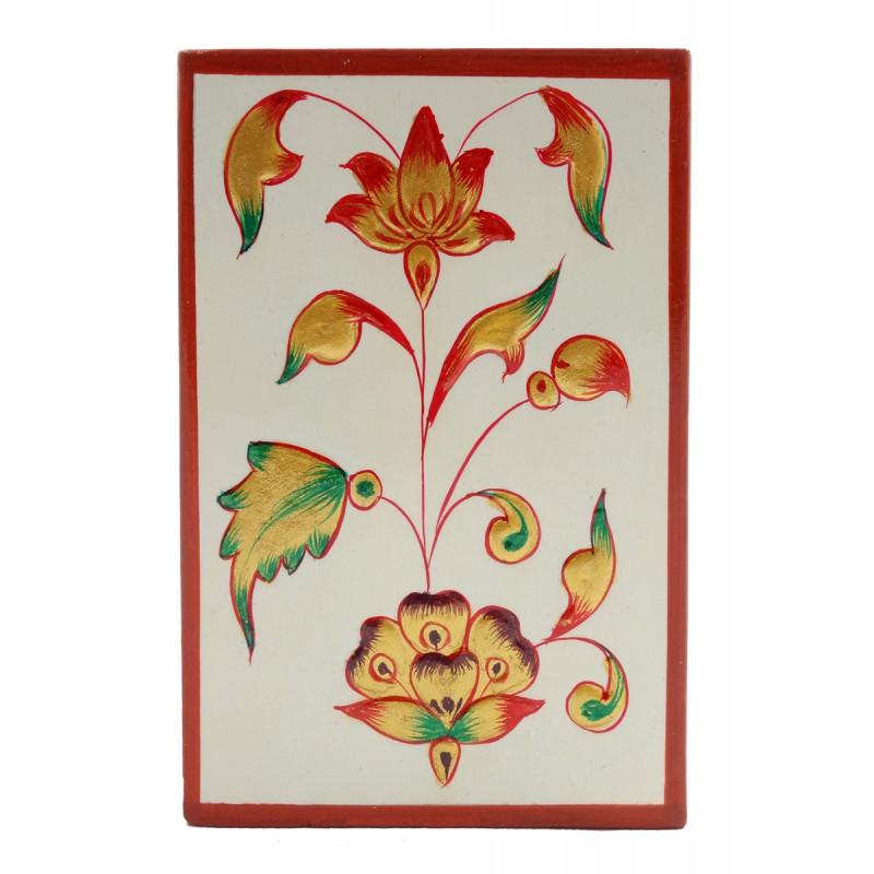 Handicraft Jaipur Style Pen Stand Square Shape