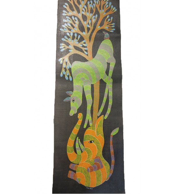 Gond Handmade Painting