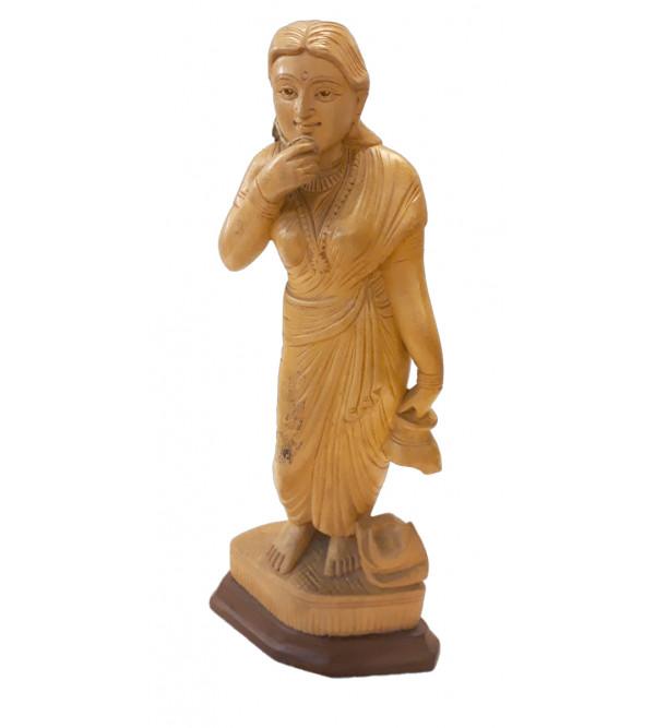 Wooden Figure 10 Inch