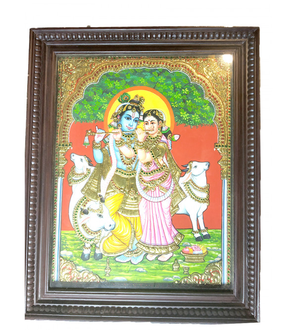 20X16 RADHA KRISHNA NATURAL COLOR