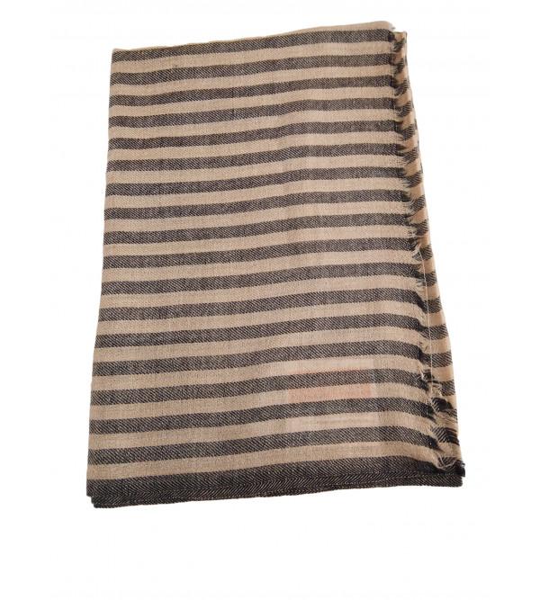 Mix Pashmina  Wool STOLE NATURAL SIMPLE 28X80 70%WOOLX30%PASHMINA